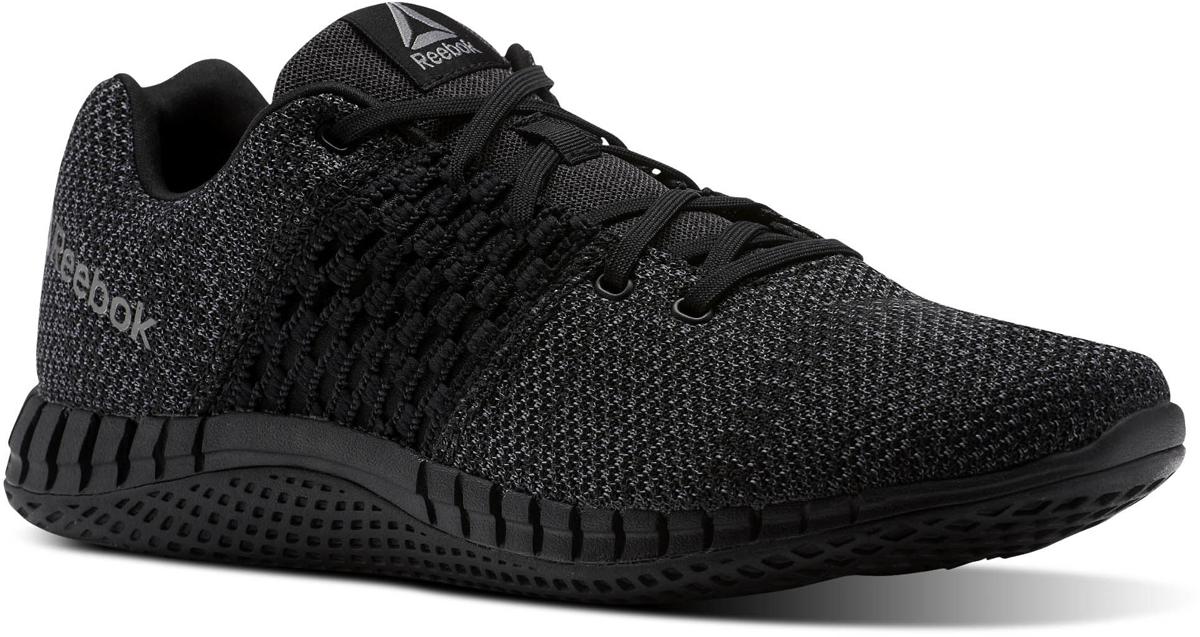 Кроссовки для бега мужские Reebok Print Run Ultk, цвет: черный. CN1113. Размер 7,5 (40) кроссовки для бега reebok easytone j18623