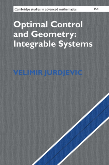 Optimal Control and Geometry: Integrable Systems non linear theory of elasticity and optimal design