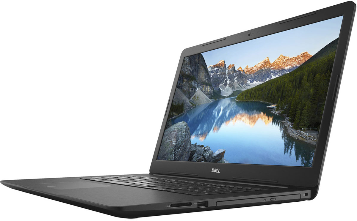 Dell Inspiron 5770-5501, Black5770-5501Dell Inspiron 5770 - 17,3-дюймовый ноутбук, созданный для развлечения всей семьи, который характеризуетсяпривлекающей внимание отделкой, большим дисплеем и широким спектром вариантов оформления.Предельная четкость. Оцените высочайшую четкость и детализацию изображения на дисплее с диагональю17,3 и разрешением Full HD. Экран IPS с широким углом обзора обеспечивает неизменно точнуюцветопередачу.Безупречная потоковая передача. Технология SmartByte обеспечивает плавность и стабильность в играх и припотоковой передаче, чтобы вы не упустили ни одной секунды. Это сетевое решение предоставляет ключевымприложениям необходимую пропускную способность для оптимальной производительности.Слышать каждый звук. Технология Waves MaxxAudio Pro обеспечивает высочайшее качество передачи звука,поэтому вы сможете наслаждаться четким насыщенным звучанием при прослушивании концертов, просмотрефильмов и в играх.Максимальная производительность. Внутри изящного корпуса ноутбука расположен новейший процессор IntelCore i7 8-го поколения, обеспечивающий невероятную производительность. Благодаря увеличенной производительности, расширенной пропускной способности, невероятнойэнергоэффективности и 8 Гб памяти DDR4 вы сразу же сможете работать с приложениями и одновременновыполнять несколько задач на профессиональном уровне. Мощная графическая подсистема. Оцените непревзойденную плавность изображения в играх, а также удобстворедактирования фотографий и выполнения других задач благодаря опциональному выделенномуграфическому адаптеру с памятью GDDR5 объемом до 4 Гбайт, который обеспечивает оптимальный истабильный уровень дополнительной мощности. Универсальное решение для различных возможностей подключения. Порт USB 3.1 Type-C обеспечиваетудобство и простоту подключения: он поддерживает зарядку устройства, подключение USB-устройств иEthernet-адаптера, а также вывод звука и видео. Доступно только на системах с выделенным графическимадаптером.Удобный оптический привод