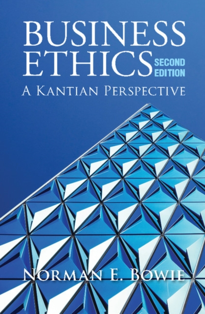 Business Ethics: A Kantian Perspective new binomial and new view on light theory
