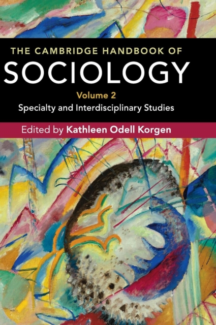 The Cambridge Handbook of Sociology global historical sociology