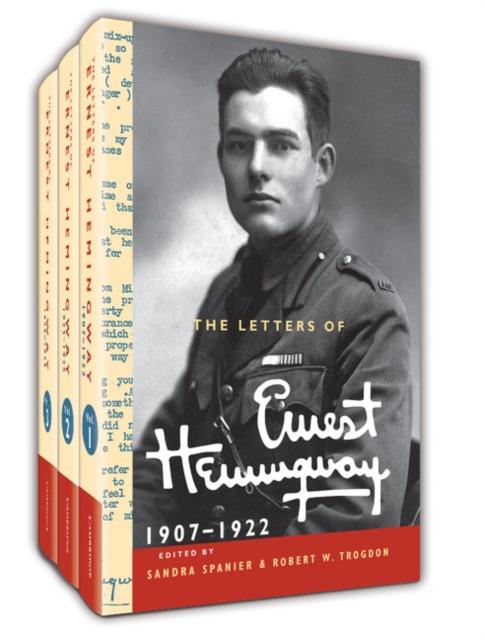 The Letters of Ernest Hemingway Hardback Set Volumes 1-3 эжен сю the mysteries of paris volume 2 of 6