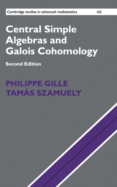 Central Simple Algebras and Galois Cohomology gerald j murphy c algebras and operator theory
