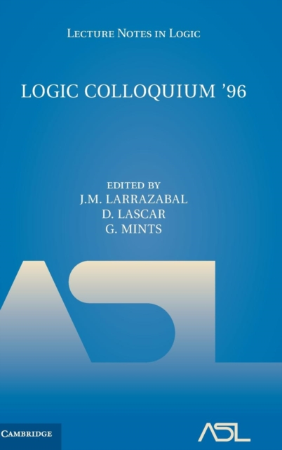 Logic Colloquium '96 the obscure logic of the heart