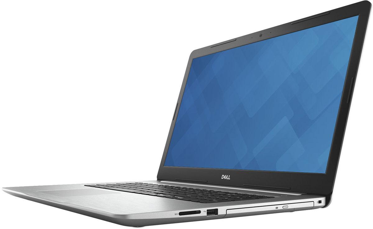 Dell Inspiron 5770-5525, Silver5770-5525Dell Inspiron 5770 - 17,3-дюймовый ноутбук, созданный для развлечения всей семьи, который характеризуетсяпривлекающей внимание отделкой, большим дисплеем и широким спектром вариантов оформления.Предельная четкость. Оцените высочайшую четкость и детализацию изображения на дисплее с диагональю17,3 и разрешением Full HD. Экран IPS с широким углом обзора обеспечивает неизменно точнуюцветопередачу.Безупречная потоковая передача. Технология SmartByte обеспечивает плавность и стабильность в играх и припотоковой передаче, чтобы вы не упустили ни одной секунды. Это сетевое решение предоставляет ключевымприложениям необходимую пропускную способность для оптимальной производительности.Слышать каждый звук. Технология Waves MaxxAudio Pro обеспечивает высочайшее качество передачи звука,поэтому вы сможете наслаждаться четким насыщенным звучанием при прослушивании концертов, просмотрефильмов и в играх.Максимальная производительность. Внутри изящного корпуса ноутбука расположен новейший процессор IntelCore i7 8-го поколения, обеспечивающий невероятную производительность. Благодаря увеличенной производительности, расширенной пропускной способности, невероятнойэнергоэффективности и 8 Гб памяти DDR4 вы сразу же сможете работать с приложениями и одновременновыполнять несколько задач на профессиональном уровне. Мощная графическая подсистема. Оцените непревзойденную плавность изображения в играх, а также удобстворедактирования фотографий и выполнения других задач благодаря опциональному выделенномуграфическому адаптеру с памятью GDDR5 объемом до 4 Гбайт, который обеспечивает оптимальный истабильный уровень дополнительной мощности. Универсальное решение для различных возможностей подключения. Порт USB 3.1 Type-C обеспечиваетудобство и простоту подключения: он поддерживает зарядку устройства, подключение USB-устройств иEthernet-адаптера, а также вывод звука и видео. Доступно только на системах с выделенным графическимадаптером.Удобный оптический приво