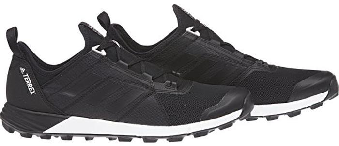 Кроссовки мужские Adidas Terrex Agravic Speed, цвет: черный. CM7577. Размер 10 (43)CM7577Кроссовки Adidas Terrex Agravic Speed - кроссовки для трейлраннинга, которые соответствуют вашему потенциалу.Готовая к соревнованиям сборка освобождает вас от лишнего веса и предлагает удобную форму. Обувь обеспечивает дышащий комфорт во время вашего бега, а легкая подошва Continental Rubber обеспечивает отличное сцепление с поверхностью даже во влажную погоду. Верх выполнен из текстиля и сетки с износостойкой вставкой для дополнительной защиты и прочности. Перфорированный язычок из ЭВА с сетчатой поверхностью и удобная текстильная подкладка обеспечивают воздухопроницаемость и комфорт.