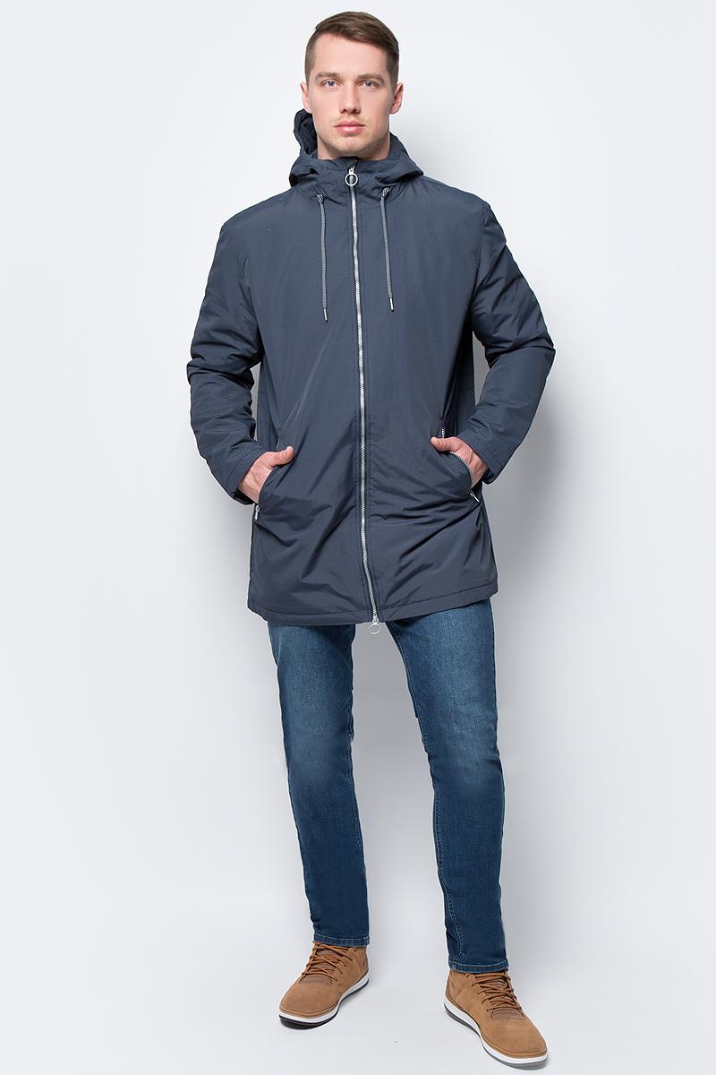 Куртка мужская Sela, цвет: темно-синий. Cp-226/408-8142. Размер XL (52)Cp-226/408-8142