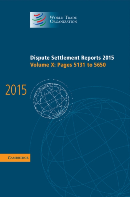 Dispute Settlement Reports 2015 under one cover eleven stories