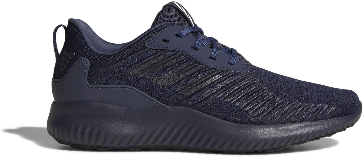 Кроссовки для бега мужские Adidas Alphabounce Rc M, цвет: темно-синий. CG5126. Размер 9,5 (42,5)CG5126Кроссовки для бега Adidas Alphabounce Rc - удобные беговые кроссовки с хорошей амортизацией и поддержкой стопы.Бесшовный эластичный верх из сетки Forgedmesh со стратегически расположенными, поддерживающими вставками позволяет стопе дышать и обеспечивает индивидуальную и максимально естественную посадку. Промежуточная подошва Bounce мягко амортизирует и обеспечивает дополнительный комфорт и гибкость, а литой задник из ЭВА дополнительно поддерживает. Исключительно износостойкая подошва Adiwear гарантирует хорошее сцепление с любой поверхностью.Перепад высоты на промежуточной подошве: 10 мм (пятка: 23 мм / носок: 13 мм).