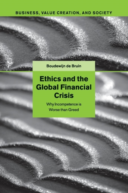 Ethics and the Global Financial Crisis global historical sociology