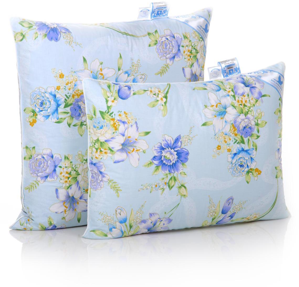 """Перо-пуховая подушка """"Неженка"""" подарит удивительно нежное домашнее тепло Вам и Вашим близким, обеспечив комфортную поддержку головы и шеи во время сна. Уважаемые клиенты! Обращаем ваше внимание на цветовой ассортимент товара. Поставка осуществляется в зависимости от наличия на складе."""