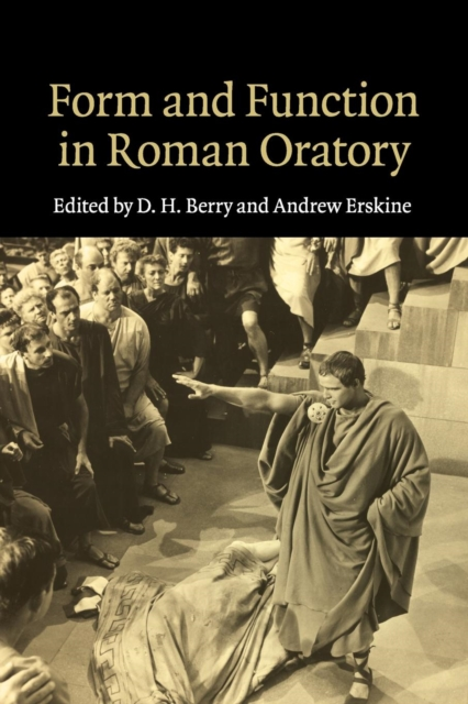 Form and Function in Roman Oratory personification and the feminine in roman philosophy
