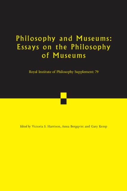 Philosophy and Museums philosophy and museums