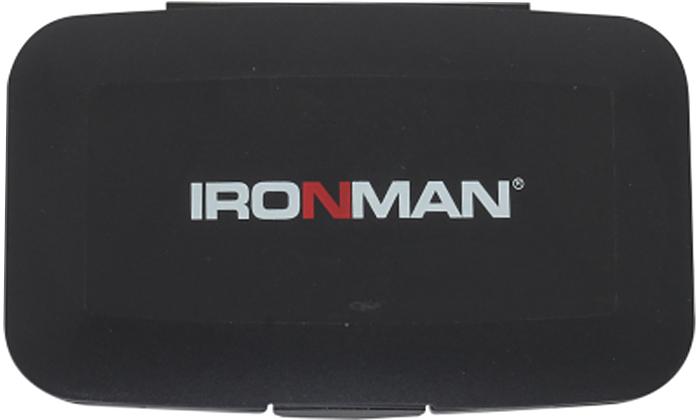 """Таблетница """"Ironman"""", цвет: черный"""