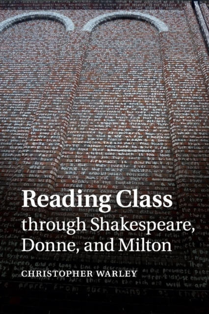 Reading Class through Shakespeare, Donne, and Milton shakespeare w the merchant of venice книга для чтения