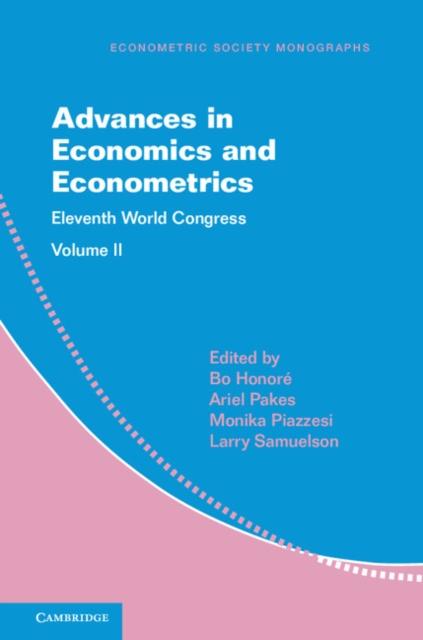Advances in Economics and Econometrics the elements of financial econometrics
