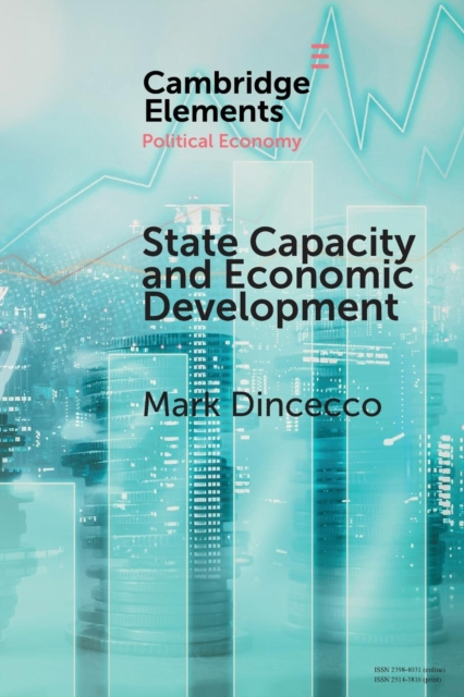 State Capacity and Economic Development chinese outward investment and the state the oli paradigm perspective