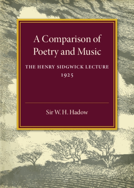 A Comparison of Poetry and Music the historian