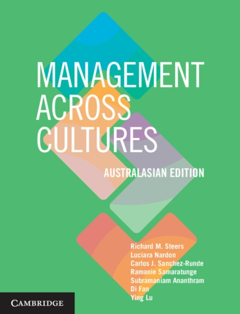 Management across Cultures Australasian edition spirituality across cultures