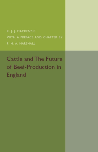 Cattle and the Future of Beef-Production in England alganesh tola gemechu distance module on beef cattle production and management
