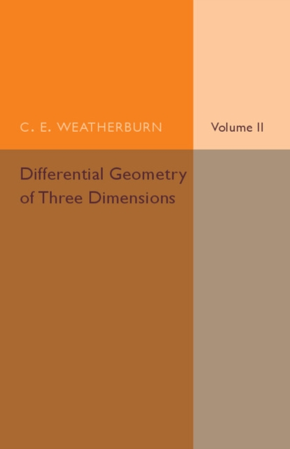 Differential Geometry of Three Dimensions vectorial capacity of ticks