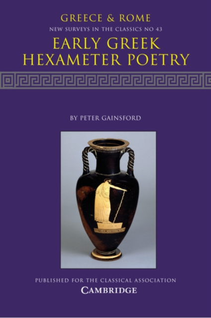Early Greek Hexameter Poetry early poems