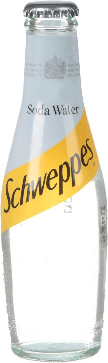Schweppes Soda Water напиток газированный, 0,2 л coca cola vanilla нижний новгород