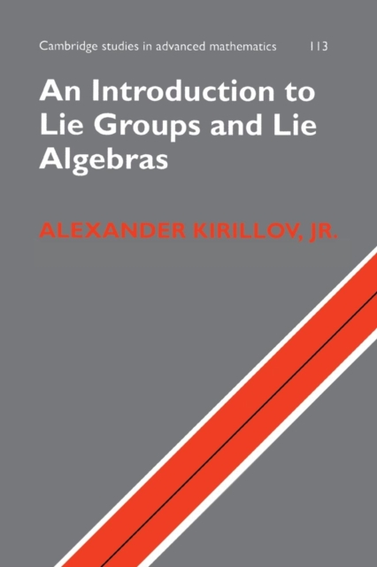 An Introduction to Lie Groups and Lie Algebras casio pro trek prw 6000y 1a