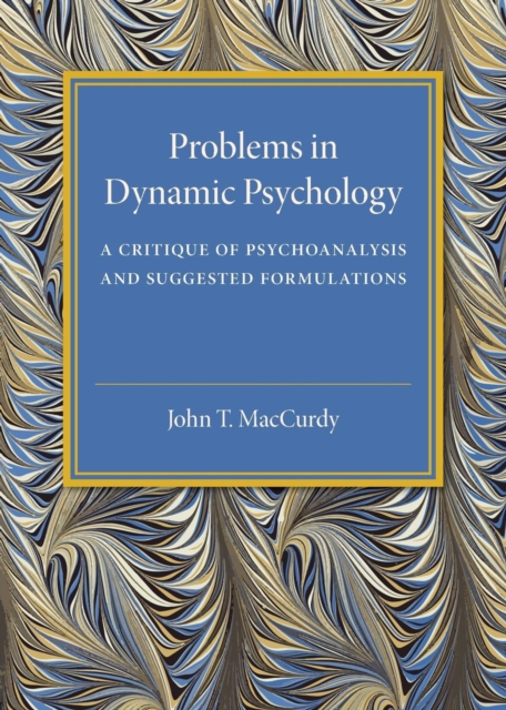 Problems in Dynamic Psychology зигмунд фрейд delusion and dream an interpretation in the light of psychoanalysis of gradiva