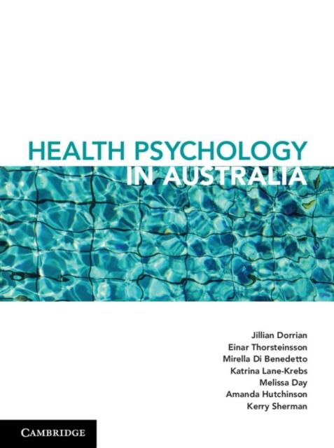 Health Psychology in Australia advances in health psychology
