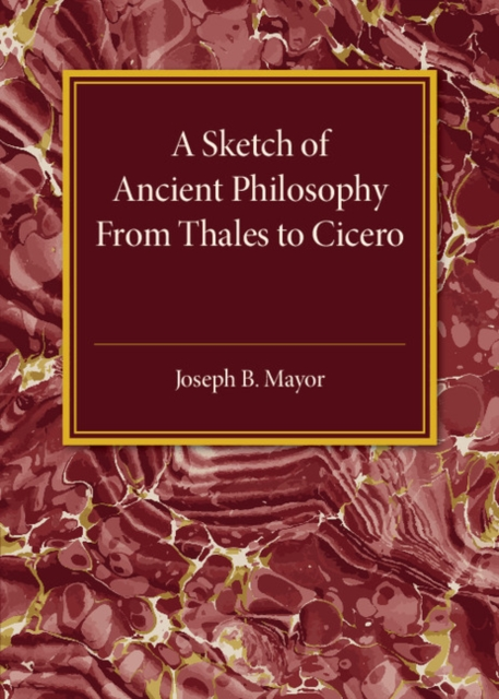 A Sketch of Ancient Philosophy aviezer tucker a companion to the philosophy of history and historiography