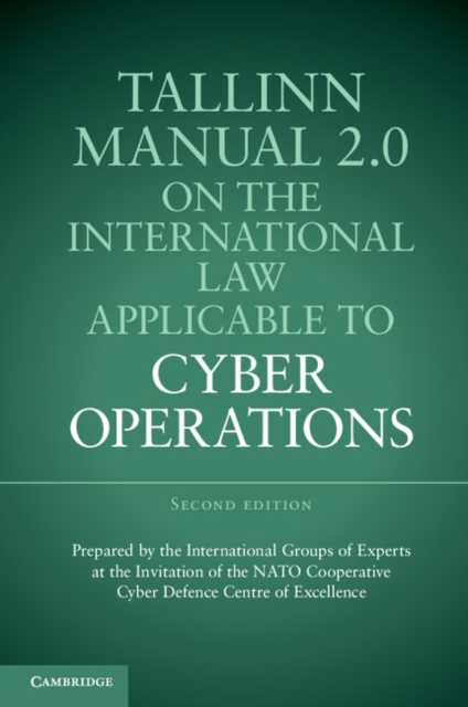 Tallinn Manual 2.0 on the International Law Applicable to Cyber Operations fundamentals of physics extended 9th edition international student version with wileyplus set