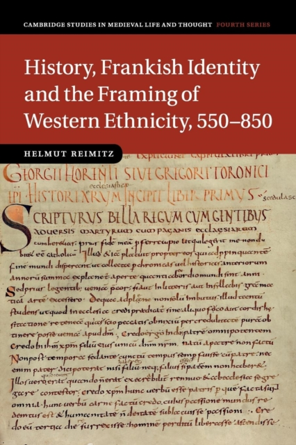 History, Frankish Identity and the Framing of Western Ethnicity, 550–850 the identity of the i of the confessions of jeremiah