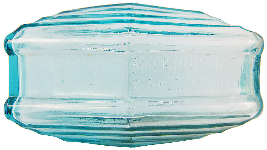 все цены на Декоративный плафон-кирпич. Синее стекло. Россия, начало XX века