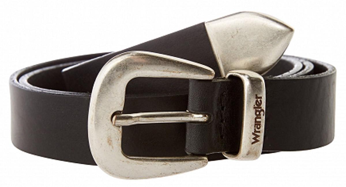 Ремень женский Wrangler, цвет: черный. W0B52U101. Размер 95