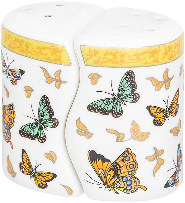 Набор для специй Elan Gallery Бабочки, 2 предмета набор для специй elan gallery заяц в шляпе 2 предмета