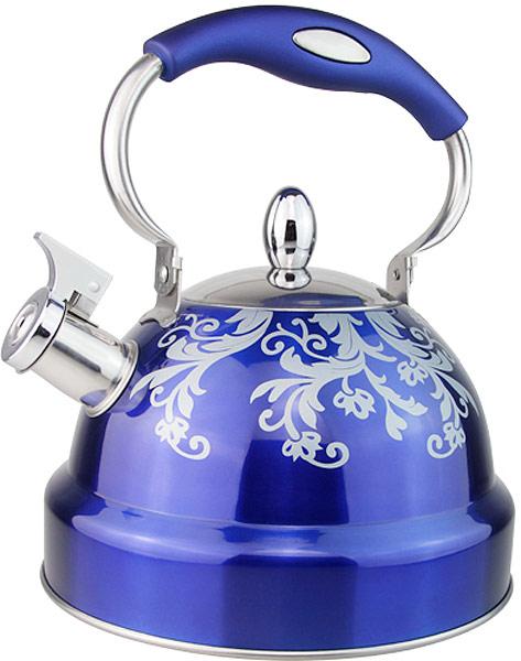 Чайник EuroStal, 3 л. ESK-3022ESK-3022Чайник со свистком 3,0 литра .Изготовлен из высококачественной нержавеющей сталиЧайник оснащен эргономичной ручкой и свисткомПодходит для всех видов плитМожно мыть в посудомоечной машине.