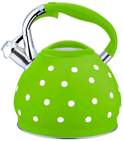 Чайник EuroStal, со свистком, 3 л. ESK-3027ESK-3027Чайник со свистком 3,0 литра .Изготовлен из высококачественной нержавеющей сталиЧайник оснащен эргономичной ручкой и свисткомПодходит для всех видов плитМожно мыть в посудомоечной машине.