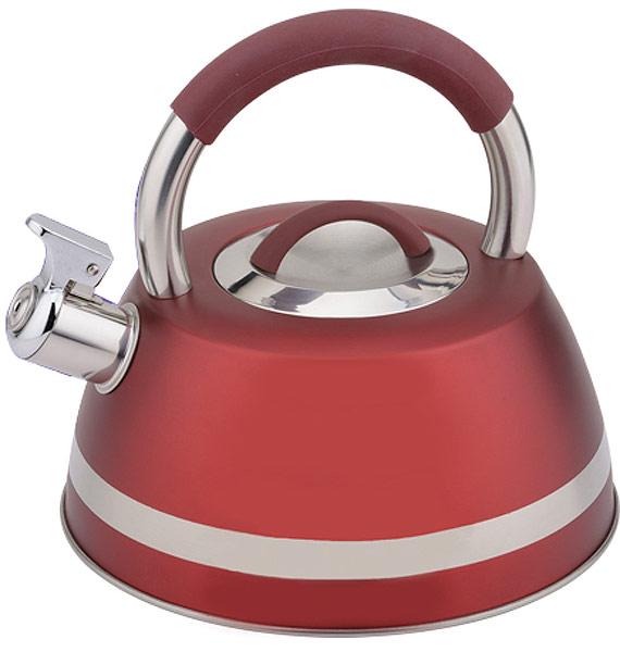 Чайник EuroStal, со свистком, 3,5 л. ESK-3501ESK-3501Чайник со свистком 3,5 литра .Изготовлен из высококачественной нержавеющей сталиЧайник оснащен эргономичной ручкой и свисткомПодходит для всех видов плитМожно мыть в посудомоечной машине.