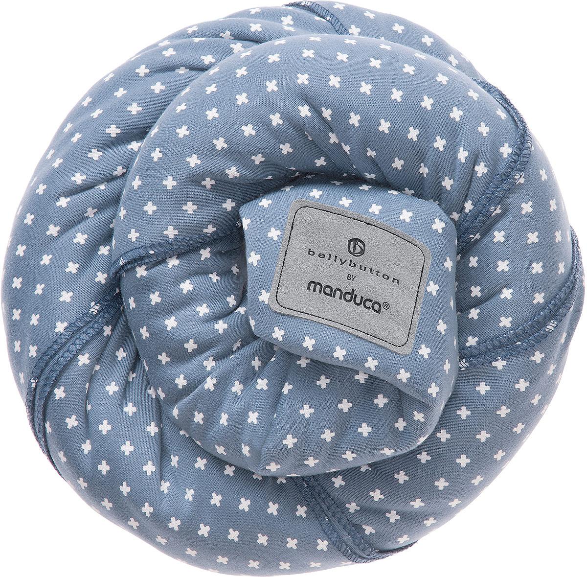 Manduca Слинг-шарф bellybutton WildCrosses цвет голубой - Рюкзаки, слинги, кенгуру