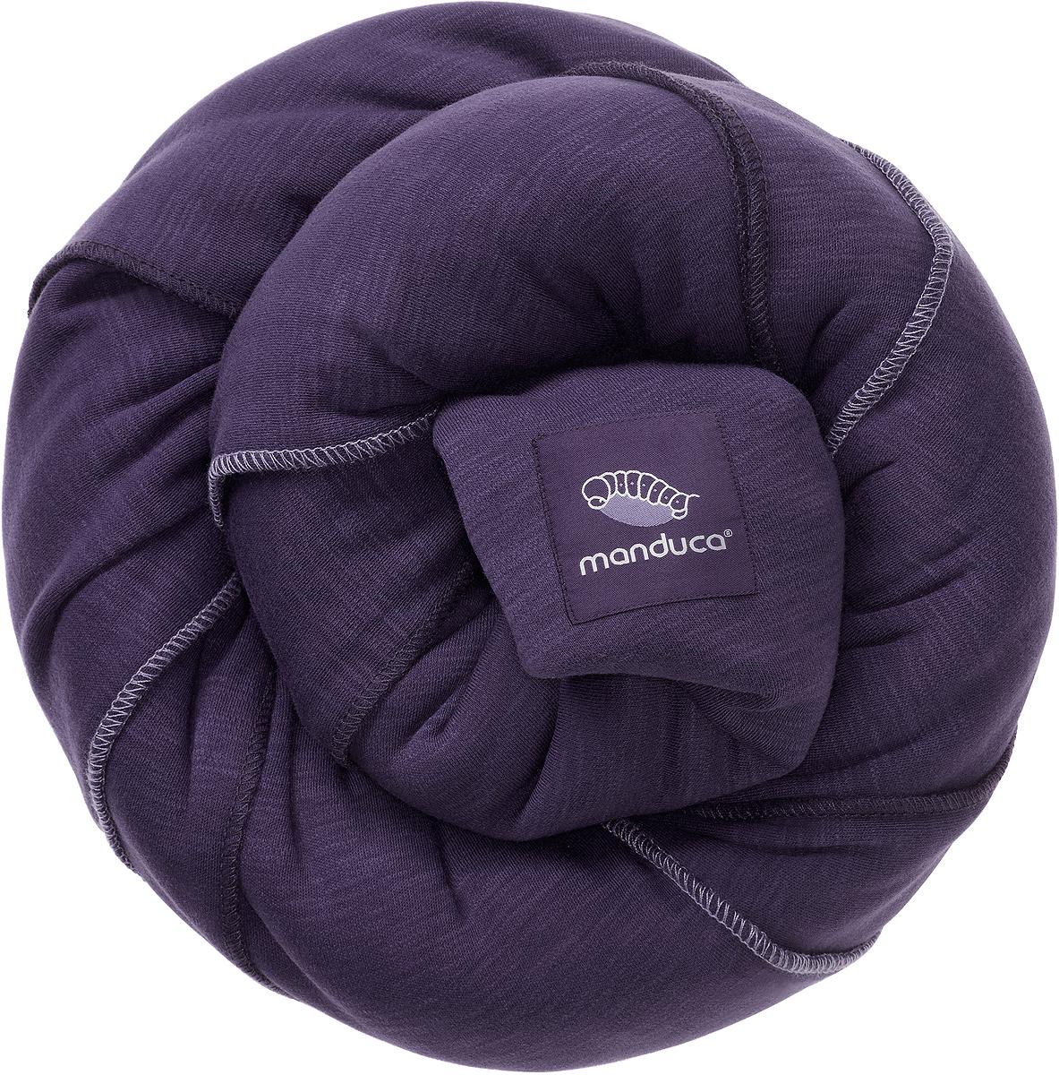 Manduca Слинг-шарф цвет лиловый