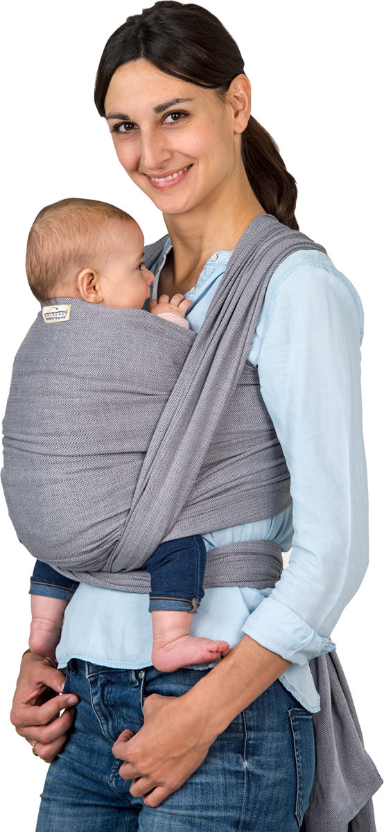 Manduca Слинг-шарф Amazonas Grey цвет серый