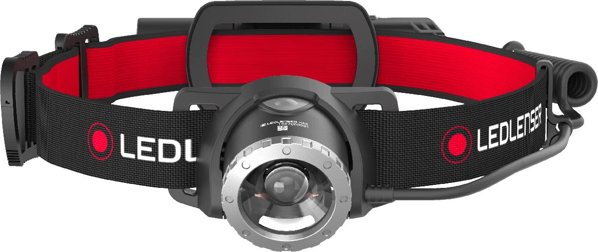 Фонарь налобный Led Lenser H8R, аккумуляторный фонарь налобный led lenser mh6 с аккумулятором цвет черный 501502