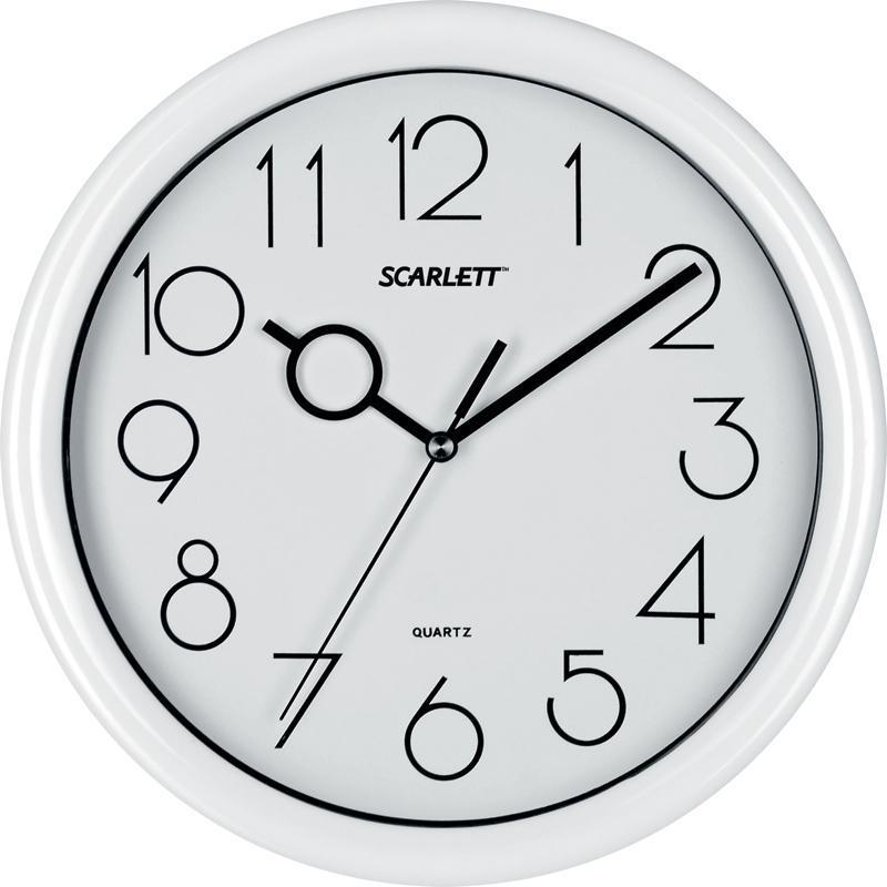 Scarlett SC-09D часы настенные цена 2017
