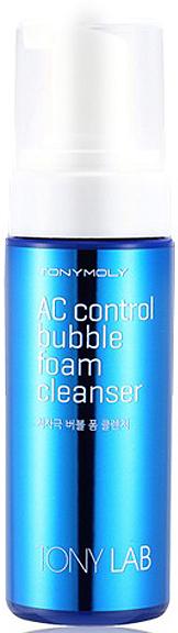 Tony Moly Пенка для для умывания для проблемной кожи Tony Lab AC Control Bubble Foam Cleanser, 150 мл пенка tony moly tony lab ac control bubble foam cleanser объем 150 мл