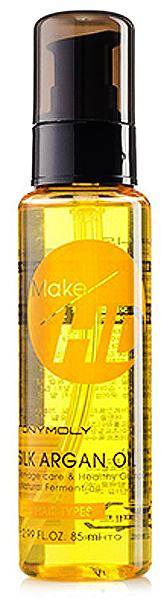 Tony Moly Средство для интенсивного восстановления волос Make HD Silk Argan Oil, 85 млTM-083Питает и увлажняет волосы и кожу головы. Борется с секущимися кончиками и стимулирует рост волос. Волосы становятся крепкими и защищенными, способными бороться с негативными факторами окружающей среды. Волосы мягче и послушнее. Помогает избежать возникновения перхоти.