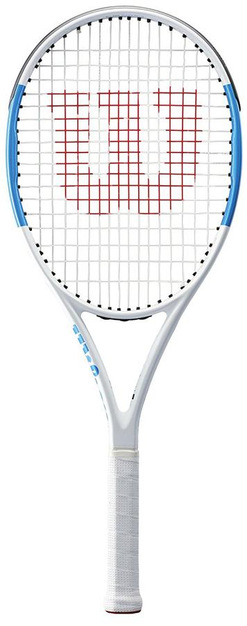 Ракетка теннисная Wilson Ultra Team 100 Ul Tns Rkt W/O Cvr 3WRT73950U3Ultra Team вдохновлена дизайном ракетки Ultra. Удобная, устойчивая и мощная ракетка Ultra Team обеспечивает комфотную игру в любой точке корта.