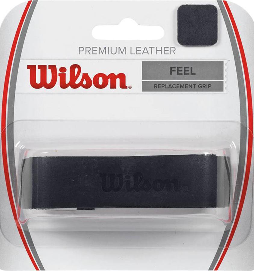 Намотка для ракетки Wilson Premium Leather Black GripWRZ470300Высококачественная натуральная телячья кожа. Используется профессионалами вместе с овергрипами. Толщина: 1,8 мм.