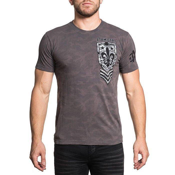 Футболка мужская Xtreme Couture Stone Age, цвет: серый. X1625. Размер XL (52) бейсболка affliction affliction af405cuaojw1