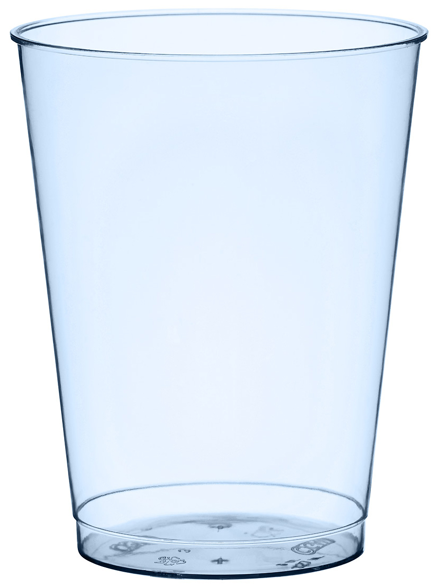 Набор пластиковых стаканов Duni Bbq Blue Line, 250 мл, 10 шт